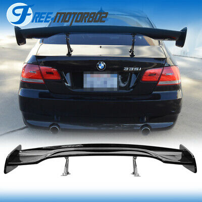 Universal GT Wing ABS Glossy Black 57 Inch 150cm  JDM Trunk Spoiler Wing