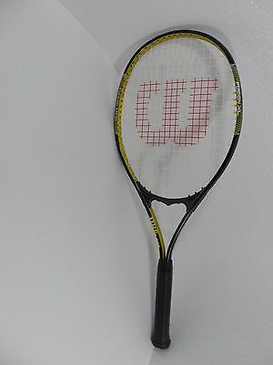 Wilson Tennis Racquet Fusion XL Stop Shock Sleeves 4 3/8 /Grip L3 - VGC