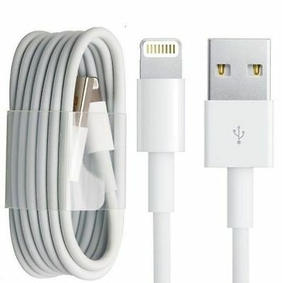 USB Cable Data Sync Charger Charging Cord Fits Apple iPhone 5 5S 5C 6 7 8 PLUS