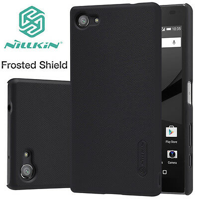 100% Nillkin Matte Shield Hard Back Case Cover+ Screen Protector For Sony Xperia