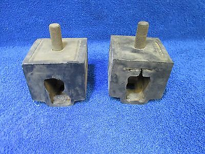 1949 Mercury  Front Engine Mount With Box Type Front  Pair  New 116