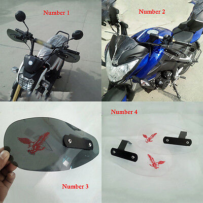 Motorcycle Handle Hand Guard Protector Wind Deflectors Shield For Harley Cruiser