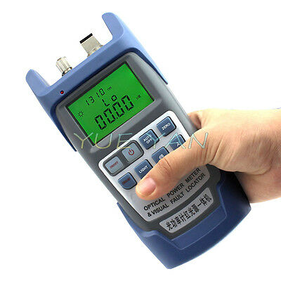 Hot All-in-One Optical Power Fiber Meter & 1mW Visual Fault Locator