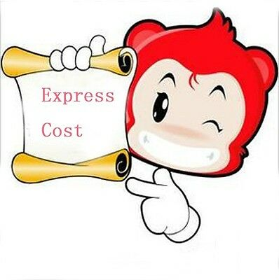DHL/EMS/FEDEX/UPS Expedited Shipping extra shipping fee Express Cost/custom made