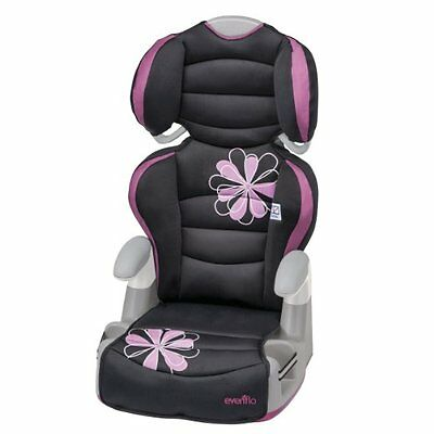 Evenflo Amp High Back Booster Car Seat, Carrissa (31911432) FREE SHIPPING NEW
