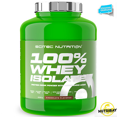 Scitec Nutrition 100% Whey Isolate 2000 gr.( 2 kg )  Proteine + Creatina 100%
