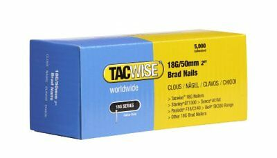 Tacwise 2 Boîtes de 5000 Clous de Finition Type 18 G 50 mm lot de 2