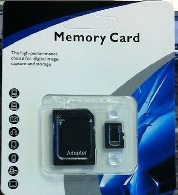 New 128GB Micro SD Memory Card SDXC SDHC Class 10 TF Flash Card Retail Package