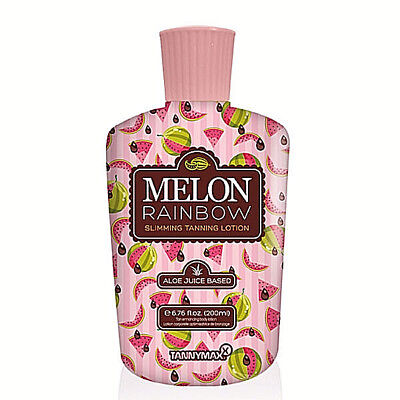 Tannymax Melon Rainbow Sunbed Dark Fast Tanning Accelerating Lotion Cream 200Ml