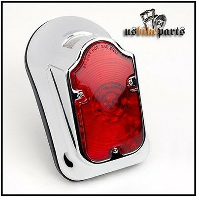 Tombstone taillight rear light original size for Harley Davidson and custom new