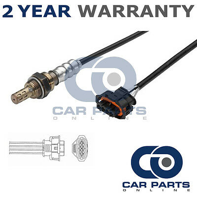 For Opel Corsa C 1.2 16V Twinport 2004-06 4 Wire Rear Lambda Oxygen Sensor Probe