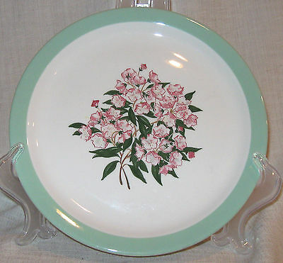Shenango Pennsylvania Railroad Mountain Laurel Salad Plate