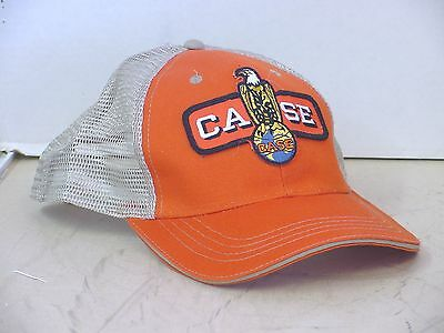 CASE TRACTOR logo patch cap, adjustable, adult