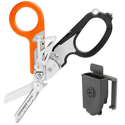 Leatherman Raptor Multitool Folding Shears W/ Holster Medical Emergency Orange