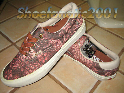 393b1af9115fbe VANS SAMPLE ERA Decon CA Leather Emboss White Blanc 9 Syndicate Dill ...