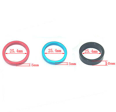 5X Washers Headset Spacer Aluminum 1 in / 25.4mm For Road Bike MTB Bicycle Stem