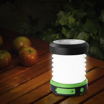 3-in-1 Portable LED Solar Camping Lantern USB Power Bank Tent Lamp Light Torch