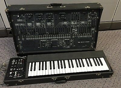 Arp 2600 Analog Modular Synthesizer  W/ Keyboard (used To Belong To Jackson 5)