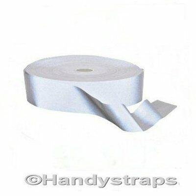 Per meter 25mm Hi Visibility Reflective Tape SEW ON TAPE FREE P&P