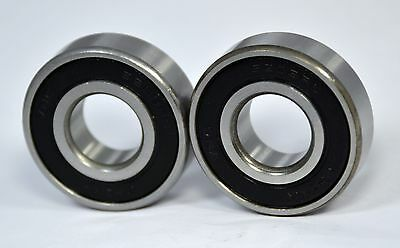 """6202-10-2RS  6202-5/8-2RS  Premium Sealed Ball Bearing,  5/8"""" Bore (Qty. 2)"""