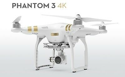 Drone Dji Phantom 3 4K+Controller X Riprese Video 12 Mpx Hd Nuovo Professionale