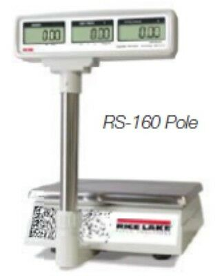 60 LB x 0.02 LB Rice Lake NTEP Price Computing Scale Rechargeable Battery & Pole