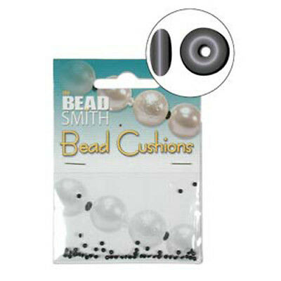 Bead / Pearl Cushions - Rubber Spacers instead of Knotting