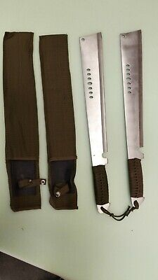 Double Fantasy Full Tang Eagle Eye Sharp Machete With Saw 002