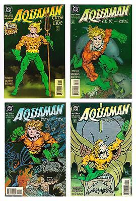 "AQUAMAN ""TIME and TIDE"" SET #s1-4 (NM-/NM)*"