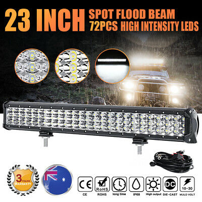 20INCH 1080W PHILIPS 4x4WD LED WORK LIGHT BAR SPOT FLOOD COMBO BEAM OFFROAD 19""