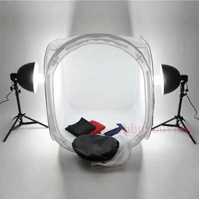 """40cm 16"""" Photography Photo Studio Tent Light Backdrop Kid Soft Cube In A Box  WP"""