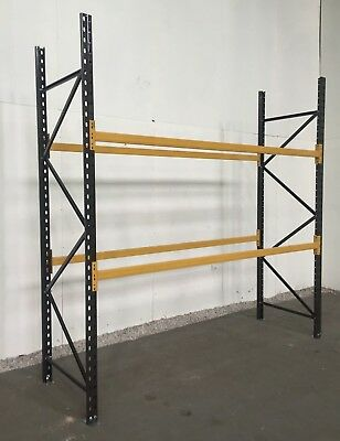 Pallet racking, USED, CHEAP, 200 bays available Storage, warehouse