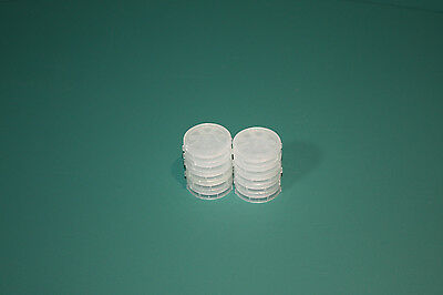 "1"" Single wafer carrier  Floroware H22-10----Lot of 10"
