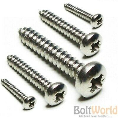 POZI COUNTERSUNK CSK * 4.5 x 70mm 100 A4 STAINLESS STEEL WOOD SCREWS