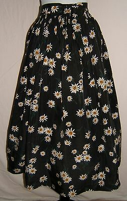 German Austrian Trachten Apron Dirndlapron With Traditional Edelweiss Prints