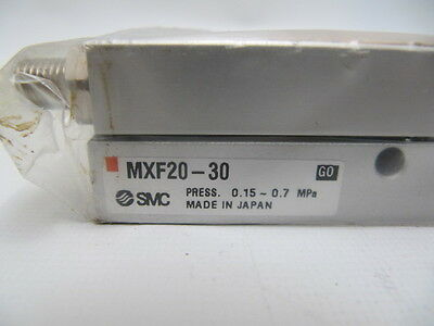 (NEW) SMC Compact Pneumatic Guided Cylinder / Slide MXF20-30