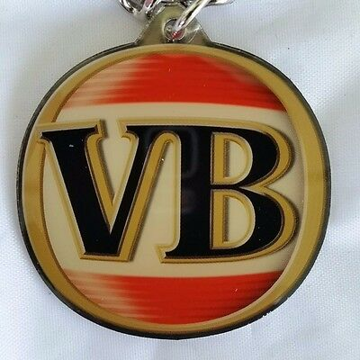 Victoria Bitter VB Beer Keyring Collectable New Old Stock! FREE POST