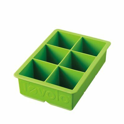 NEW Tovolo King Cube Ice Trays Green