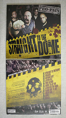 """Pro-pain """"Straight to the dome"""" Yellow vinyl LP NEW sealed"""