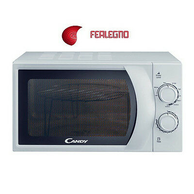 Forno Fornetto A Microonde + Grill 20Litri  Bianco Cmg2071M Candy
