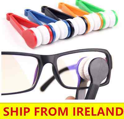 4 PCS Lens Cleaner Glasses Spectacles Eye Cleaning Cloth Tool Sunglasses Wipe