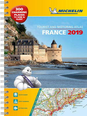 Michelin France Road Atlas A3 Spiral 2018