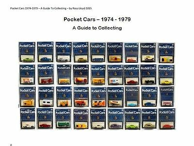 Catalog Guide Book English 'Collecting Tomica Tomy Pocket Cars 1974 to 1979'