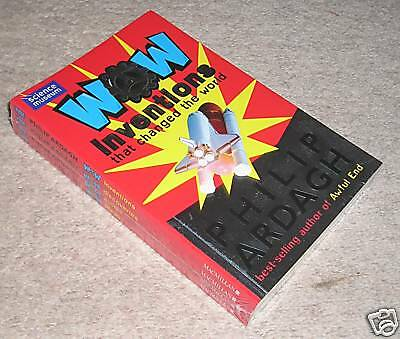 WOW INVENTIONS DISCOVERIES by Ph. ARDAGH - 4 Books  NEW sealed SET. RRP £16