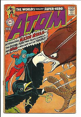 The Atom # 37 (Intro Major Mynah, July 1968), Vg+
