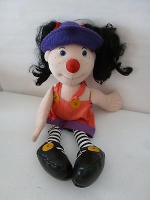 """Big Comfy Couch LOONETTE THE CLOWN large Doll Plush 1995 Large 20"""" Tall"""