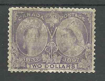 Sg137 The $2 Deep Violet Victorian 1897 Jubilee Stamp Used Cat £425