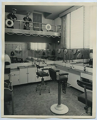 C1960 Promo Photo Shergis Hairdressing Salon John Martins Store Adelaide G12