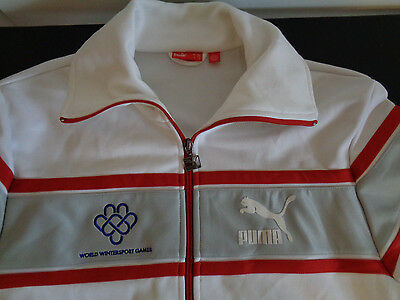 BLADES OF GLORY Ice Skating WORLD WINTERSPORT GAMES Movie PUMA Jacket XL Promo