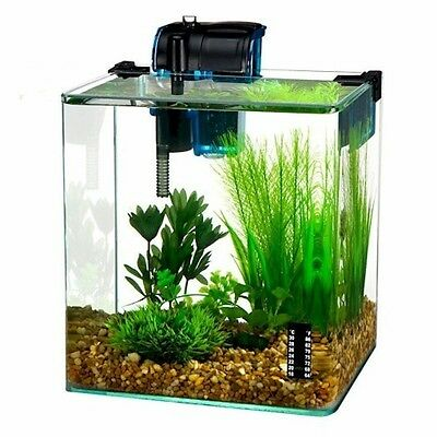 Penn Plax VERTEX™ Shrimp Tank Kit / 2.7 Gallon WW130 Aquarium Kit NEW